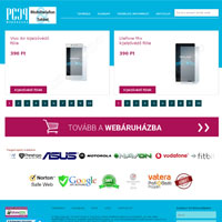 Mobil webshop